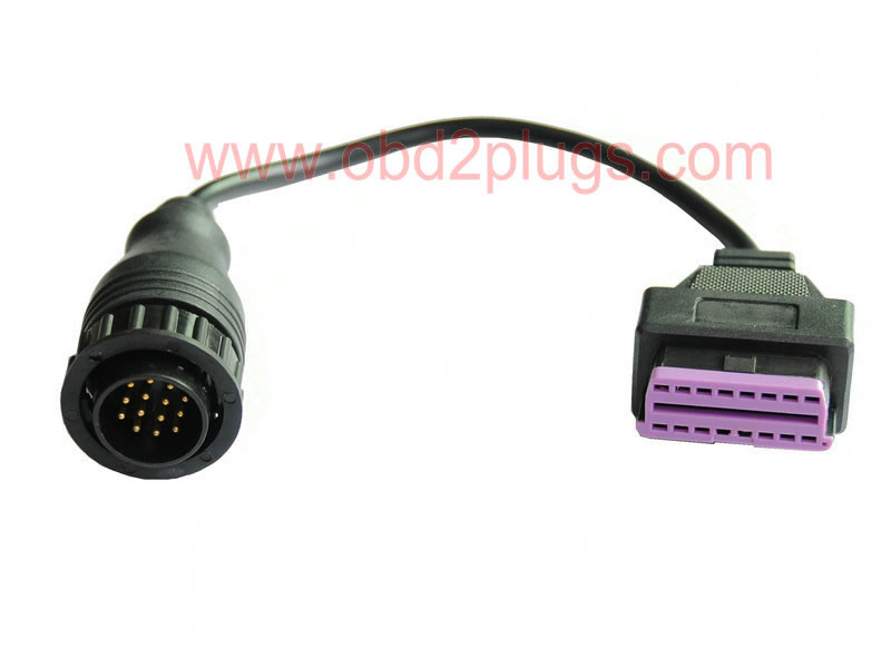 Benz OBD-II Female to 14Pin Male Cable
