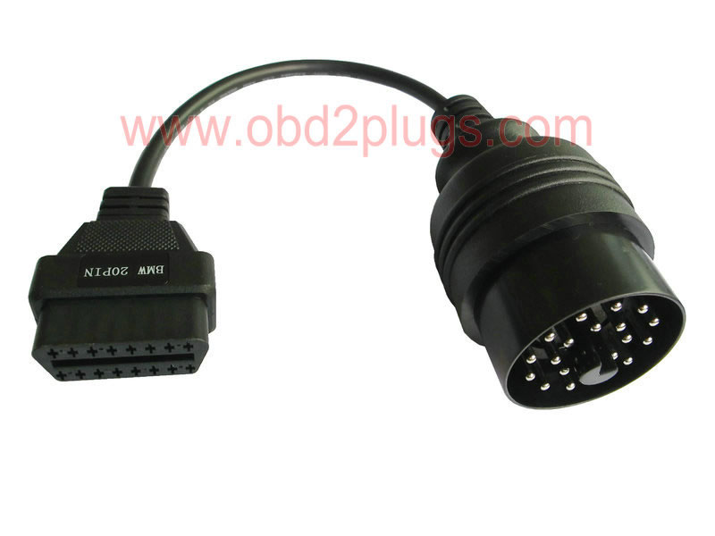 BMW-20Pin Male to OBD2 Female Cable