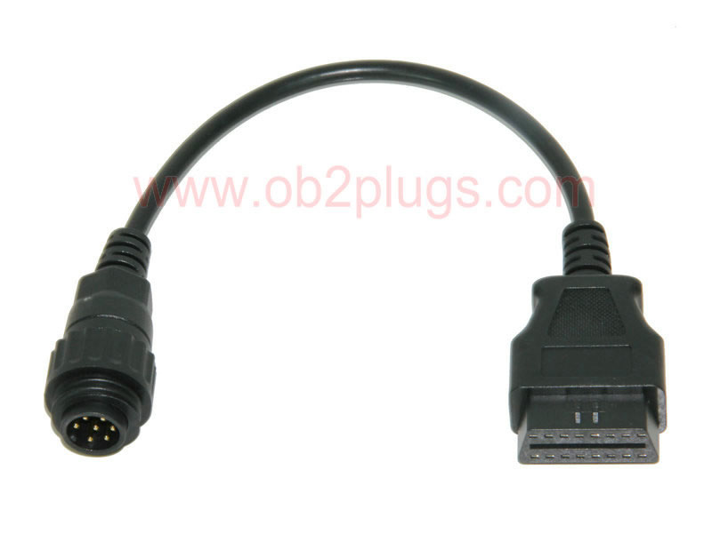 OBD2 Female to Knorr,Wabco Trailer-7Pin Cable