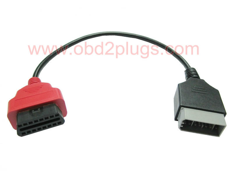 OBD2 Femaleto NISSAN-14Pin Male Cable