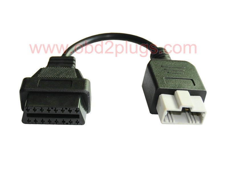 OBD2 Female to HONDA-5Pin Male Cable