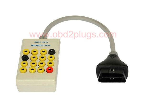 Obd2 16pin Diagnostic Breakout Box Obd2 Cable Eld Cable