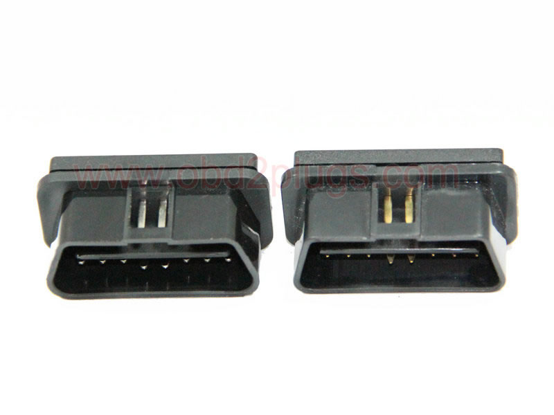 OBD2 J1962 Male Connector, 12V with PCB
