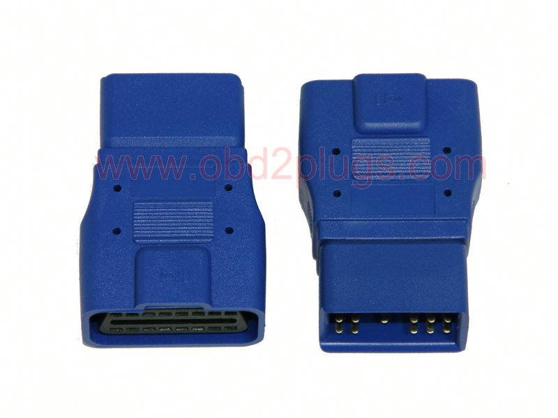 OBD2 Female to TOYOTA Square-17Pin Adapter