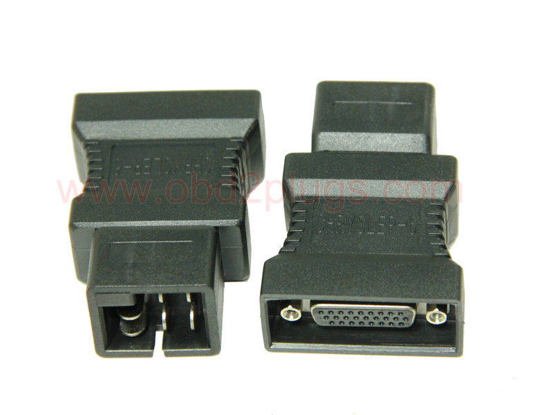 HDB26 Female to Chrysler-6Pin Adapter - OBD2 cable,ELD cable,J1939
