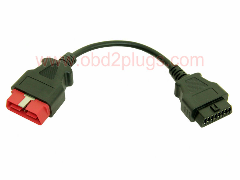 OBD2 Male(24V) to OBD2 Female Cable