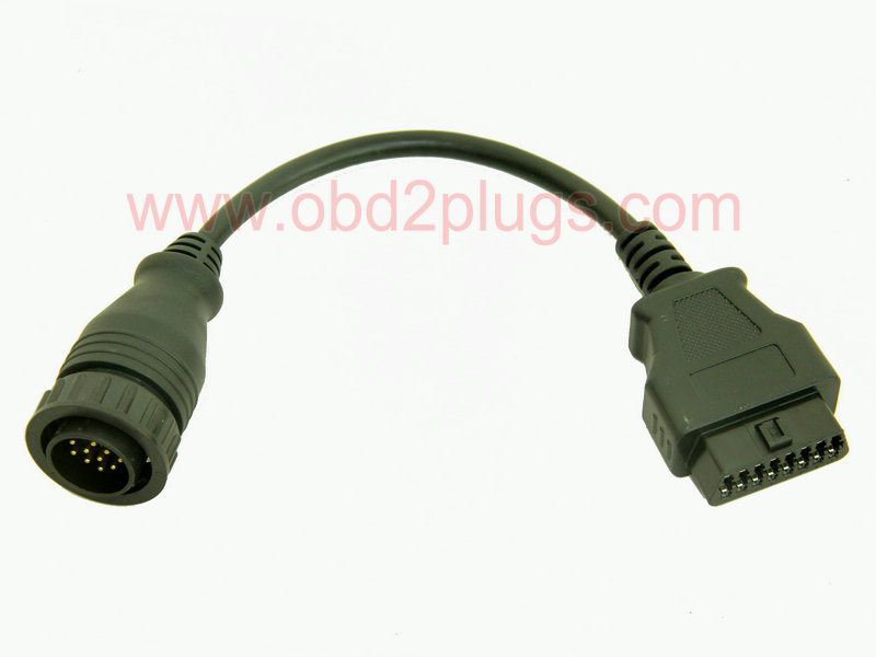 OBD2 Female to Mercedes Sprinter/Ssangyong-14Pin Cable
