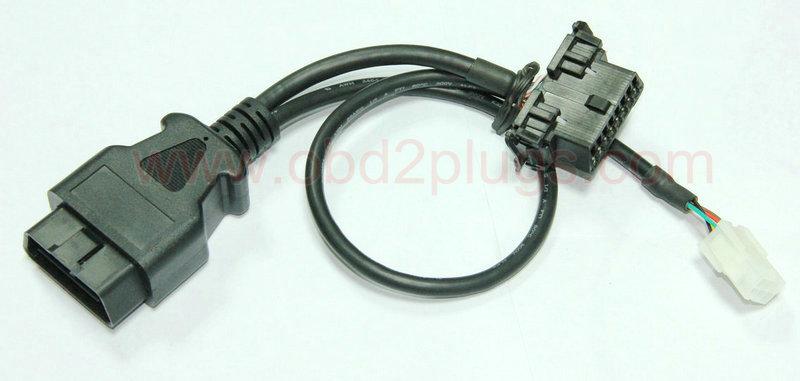 Vehicle Gps Amp Navigation Obd2 Male To Female Molex 6pin