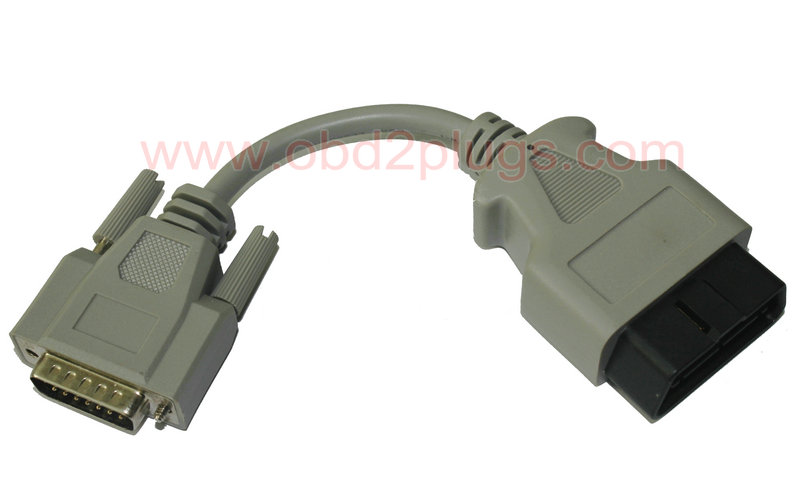 Db15 Male To Obd2 24v Male Cable Obd2 Cable Eld Cable