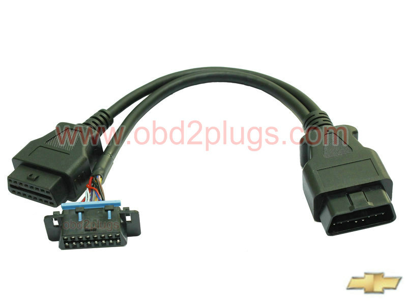 Obd2 Splitter Y Cable For Chevy Obd2 Cable Eld Cable