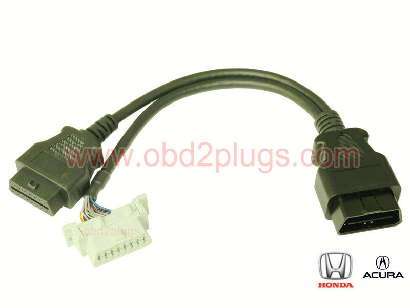 OBD2 Splitter Y cable for Honda&Acura