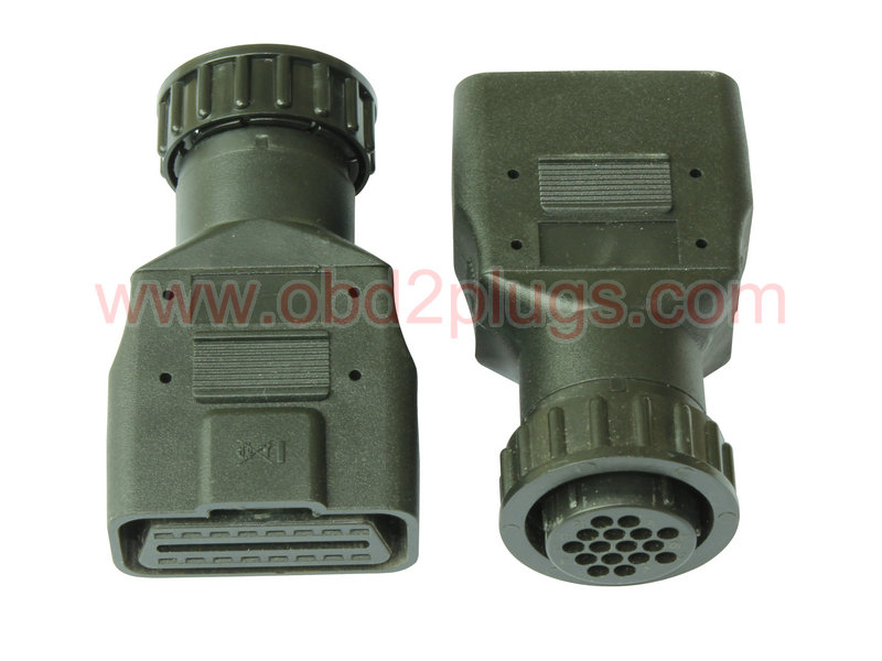OBD2 Female to SCANIA-16Pin Adapter