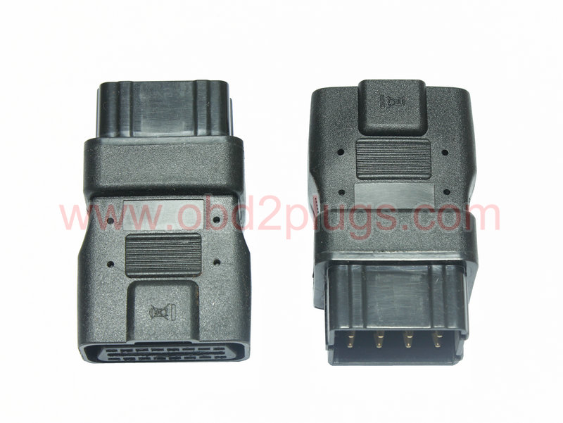 OBD2 Female to Renault-12Pin Adapter