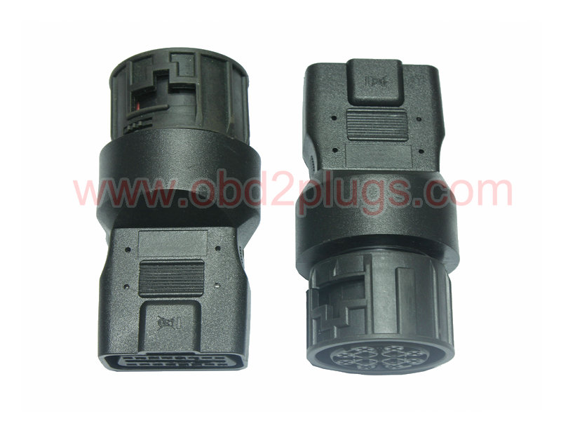 OBD2 Female to MAN-12Pin Adapter