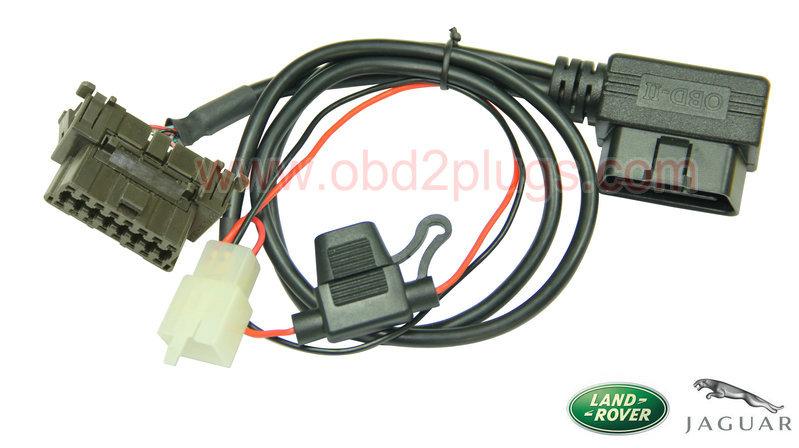 Obd2 Splitter Y Cable With Fuse Fit Jaguar Amp Rover Obd2