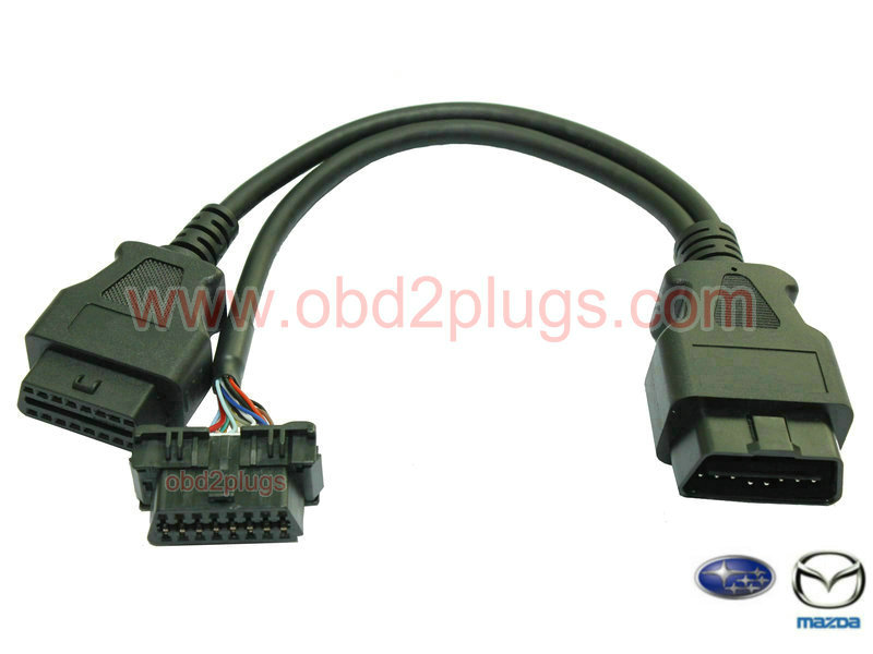 OBD2 Splitter Y cable for MAZDA&Suzuki&Subaru