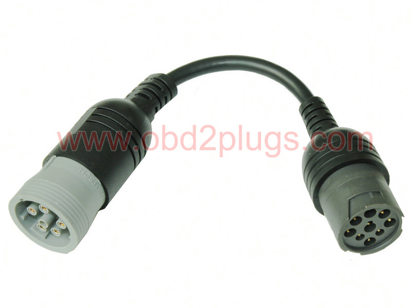 Deutsch-6Pin Female to Deutsch-9Pin Male cable - OBD2 cable