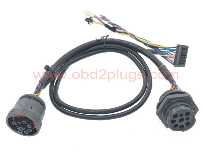 J1939-9Pin  Pass through cable