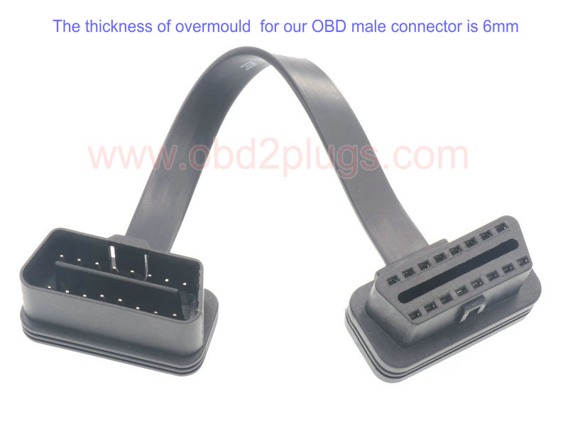 Ultra Low Profile OBD2 Extension Cable-9C